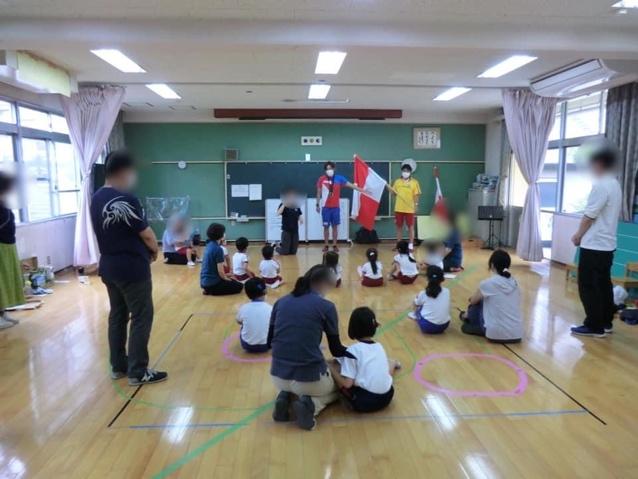 大分県聾学校での講習会